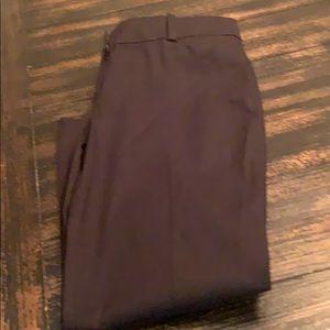 Black ankle Ann Taylor pants